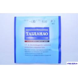 Линза TAIJAHAO Ф70 -0.00 (минеральная, антикомпьютерная)