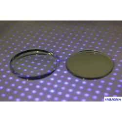 Линза BLUE LIGHT BLOCKER -2.25 Ф70 индекс 1.56 (полим, комп, а/б,  EMI зеленый, UV 420)
