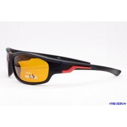 Антифары очки SERIT 505 (C3) (красн.) (пластик)