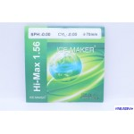 Линза HI-MAX +5.00 Ф65 индекс 1.56 (полим, а/б, EMI зеленый)