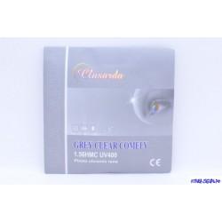 Линза CLASARDA ФХП (сер) -9.50 Ф70 индекс 1.56 (полим., а/б)